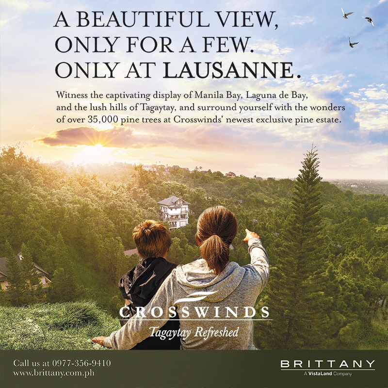 Lausanne at Crosswinds Facebook Feature - Property Report PH - The Philippine Star - Brittany Corporation