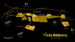 Vista Alabang vicinity map - point from alabang to makati - Portofino - Luxury homes by Brittany