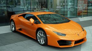 Orange Lamborghini Luxury Car | Brittany Corporation
