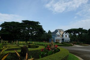 Panoramic view of Eliot in Promenade where the grandest mansions in the Philippines are | Brittany Corporation