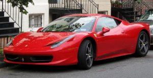 Red Ferrari 458 Italia Luxury Car | Brittany Corporation