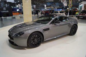 Silver Aston Martin V12 Vantage S Luxury Cars