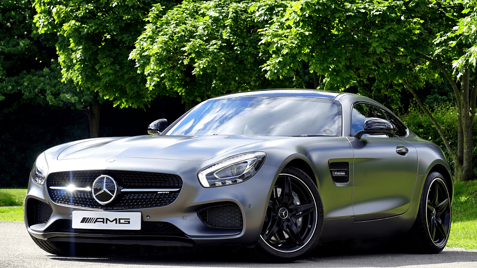Silver Mercedes Benz AMG Luxury Cars | Brittany Corporation