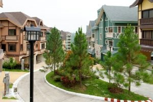The Deux Pointe Swiss Inspired luxury homes for sale in premier destination Tagaytay Crosswinds Brittany Corporation