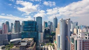 The Metro Manila Skyline on a sunny day | Luxury Homes by Brittany Corporation