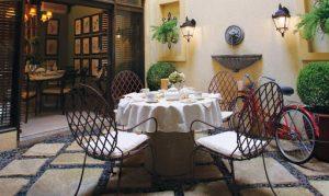 The veranda of Ghiberti | Luxury Homes by Brittany Corporation
