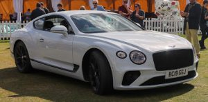 White Bentley Continental GT Luxury Car | Brittany Corporation