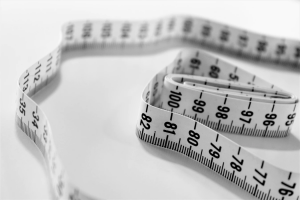 White Standard Measuring Tape is a great gift idea for Father's Day