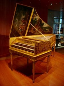 Harpsichord | luxury homes by brittany corporation