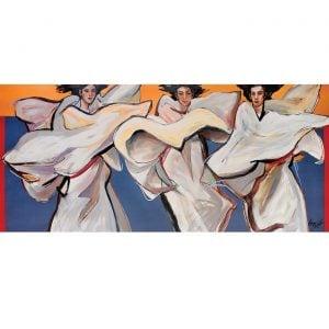 Philippine painting: Dance of Isadora