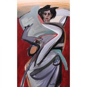 Sabel (2008) Philippine painting by Filipino local artist Benedicto Cabrera