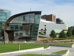 Museum of Contemporary Arts Kiasma - Helsinki, Finland - Top structures in the world