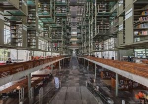 Vasconcelos Library - Mexico City, Mexico - Top structures in the world