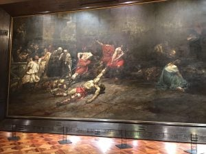 Juan Luna's Spolarium as seen in the National Museum with the most expensive paintings