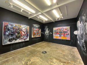 Avante-garde museum in Metro Manila Philippines.