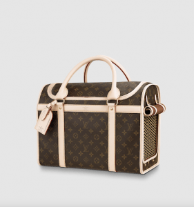 Louis Vuitton Dog Carrier | Luxury Homes by Brittany Corporation