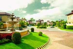 Portofino Fountain Main Visual HR 2   Luxury homes by brittany corporation