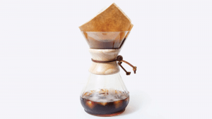 Pour-over coffee maker for rainy day coffee | Luxury Homes by Brittany Corporation