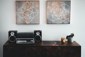Surround sound home stereo system | Luxury Homes by Brittany Corporation