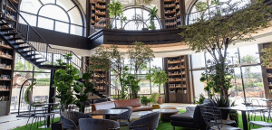 The expansive interior of Coffee Project x Fully Booked | Luxury Homes by Brittany Corporation