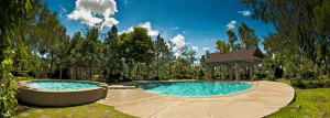 The swimming pool at Crosswinds Tagaytay | Luxury Homes by Brittany Corporation