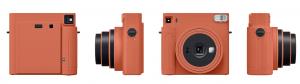 Orange Terra Cotta weekend travel item camera