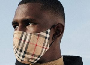 Man wearing a burberry face mask in Crosswinds tagaytay | Luxury Homes by Brittany Corporation