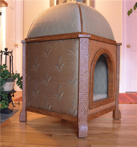 4.Couture luxury domed pavilion dog bed | luxury lifestyle and homes by brittany corporation