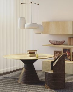statement table for a luxury condo | Luxury homes by brittany corporation