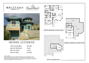 Lucerne Floor Plan | Luxury Homes by Brittany Corporation