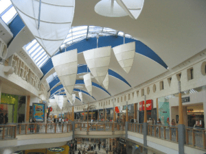 Bluewater Shopping Centre is a luxurious mall in Stone, Kent is one of the luxurious malls around the world - Brittany Corporation
