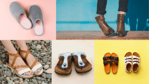 Different footwear you can match for different style tips in the pandemic even while staying at your luxury home - Brittany Corporation