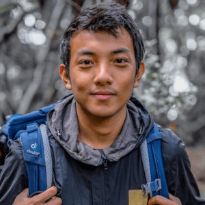 Gab Mejia youth leader for forest rangers and wetlands in the philippines   luxury homes by brittany corporation