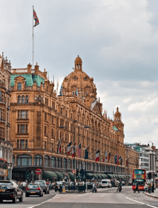 Harrods, London, England - Brittany Corporation