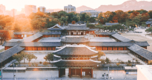Photo of an empire looking community in one of the most visited cities to travel in Seoul South Korea - Brittany Corporation - Scenic Destinations around the world