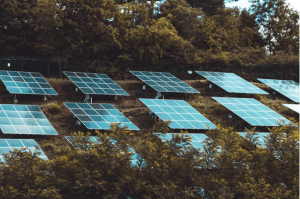 Solar Panels laid outdoors to collect sunlight energy to power solar powered luxury homes in the Philippines - Brittany Corporation