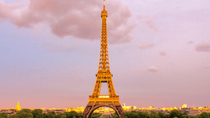 romantic eiffel tower in paris, france which is one of the best places for retirement in europe | luxury homes by brittany corporation