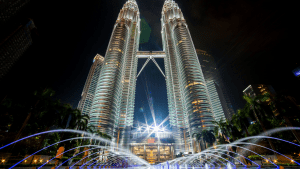 patronas towers in kuala lumpur malaysia southeast asia where a lot of foreigners retire | luxury homes by brittany corporation