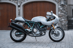 White Ducati | Luxury Homes by Brittany Corporation