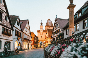 Rothenburg ob der Tauber, a town in Germany   Luxury Homes by Brittany Corporation