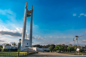 Best sunset view in Quezon City is in the QC circle - Brittany Corporation