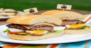 Chivito Sandwich is one of the iconic dishes of South America | Luxury Homes by Brittany Corporation