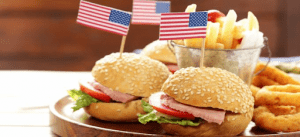 Classic American Sandwiches with Fries | Luxury Homes by Brittany Corporation