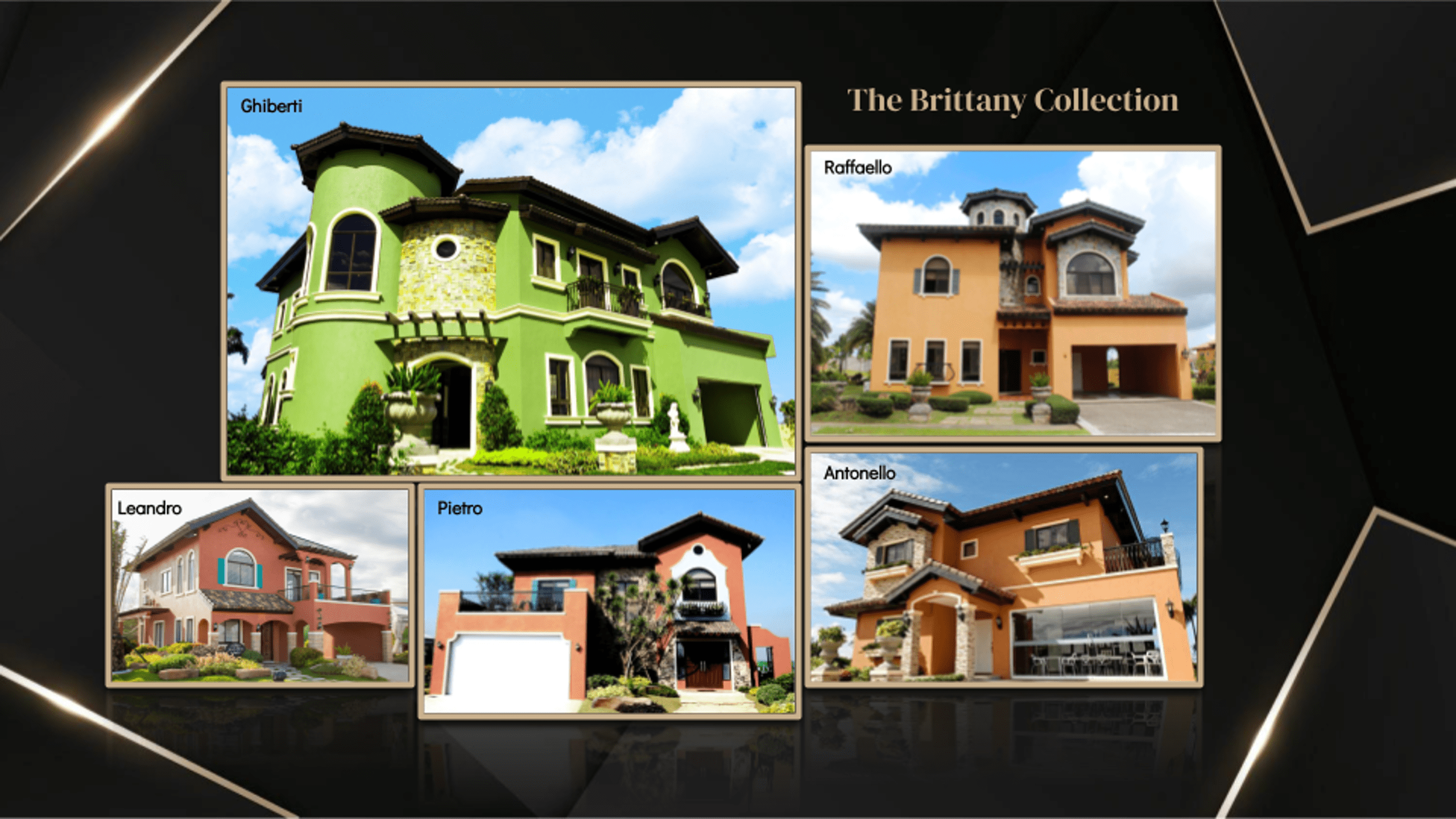 Luxury House Collection - Vista Alabang - Brittany Corporation