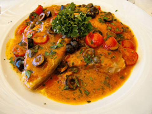 Mediterranean Style Baked Tilapia   Luxury Homes by Brittany Corporation
