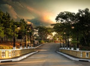 Bridge going to the luxury homes of Portofino Alabang   luxury homes by brittany corporation