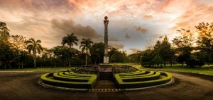 Promenade Obelisk in Luxury house and lot community in Sta. Rosa - Webpage Banner - Luxury Homes in the Philippines