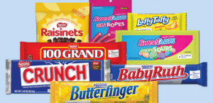 Raisinets Sweet Tarts Laffy Taffy 100 Grand Crunch Baby Ruth Butterfinger | Luxury Homes by Brittany Corporation