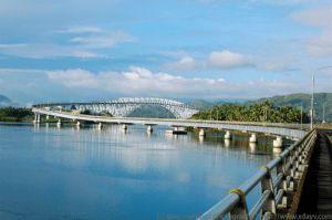 San Juanico Bridge connects Samar and Leyte - Luxury Homes by Brittany