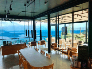 Starbucks Tagaytay with the best sunset views near Crosswinds Tagaytay - Luxury house and lot in Tagaytay - Brittany Corporation